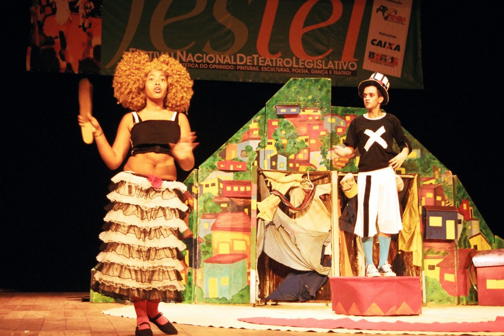 Legislative Theater. Courtesy of Center for the Theatre of the Oppressed in Rio de Janeiro (CTO).
