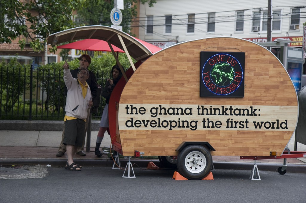 Ghana ThinkTank. Courtesy of Christopher Robbins.