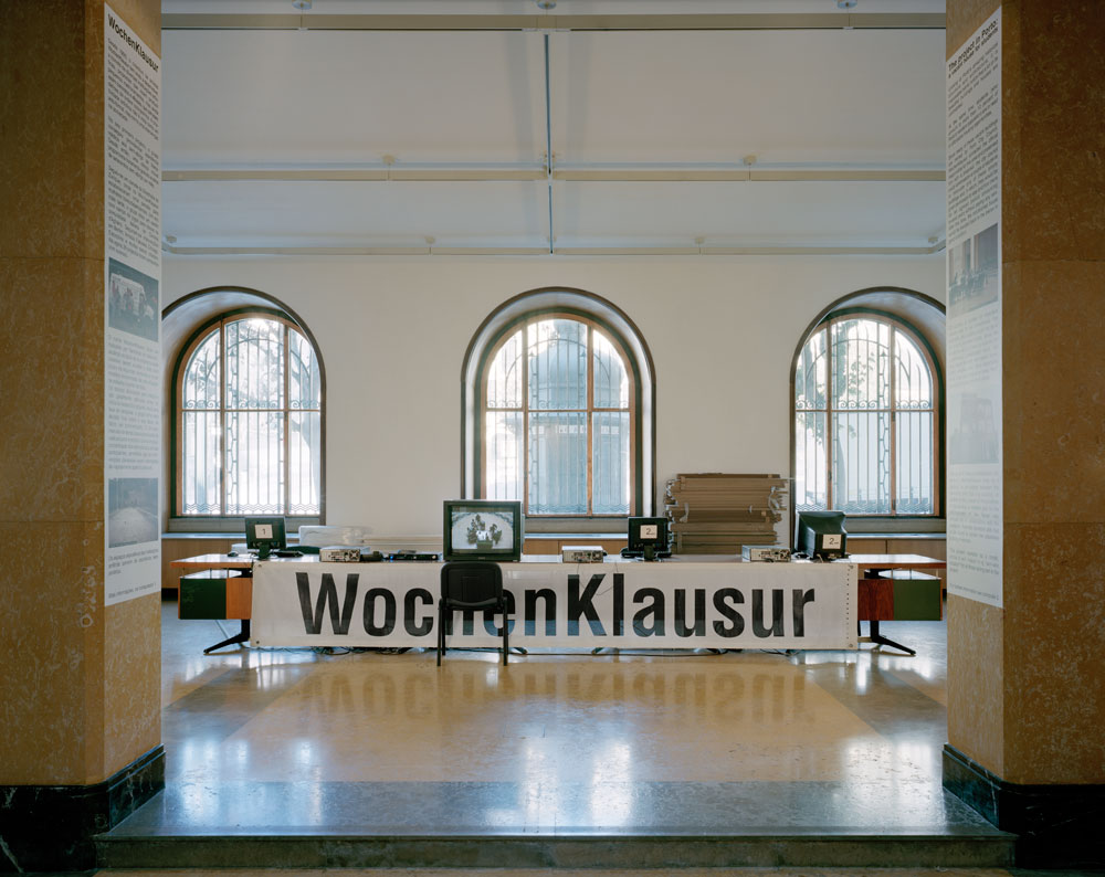 WochenKlausur, A vacant house for students, 2010