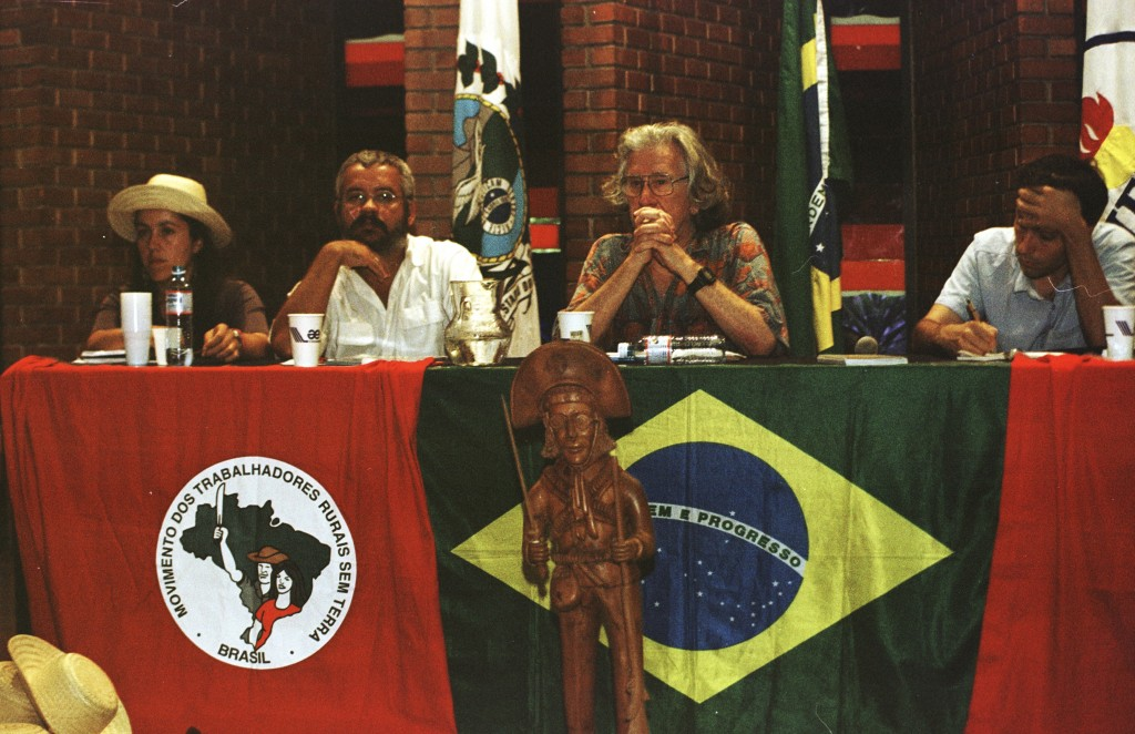 Augusto Boal, Movimento Dos Trabalhadores Rurais sem Terra. Courtesy of Center for the Theatre of the Oppressed in Rio de Janeiro (CTO).